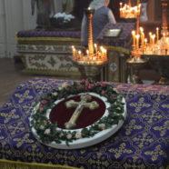 Неділя Хрестопоклонна в тимчасовому Свято-Іллінському храмі Каменя-Каширського