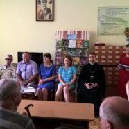 З благословення священика розпочалися святкові збори Камінь-Каширської організації УТОСу