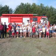 """Учасники дитячого табору """"Стежинка Любові"""" мали зустріч із рятувальниками"""