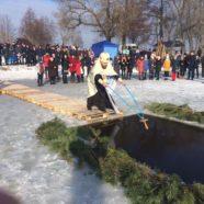 На озері в селі Осівці було звершено чин Великого освячення води