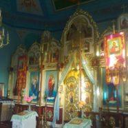 У Великому Обзирі молитовно відзначили 13-ту річницю відкриття місцевого храму Преображення Господнього