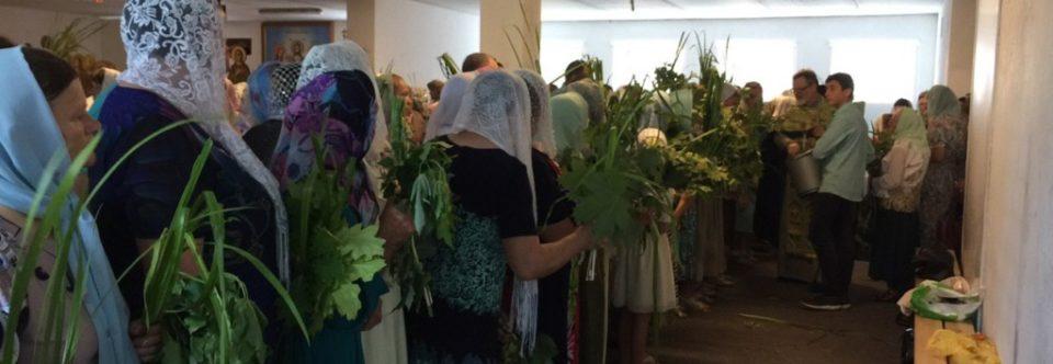 Святкове богослужіння в день П'ятидесятниці православної громади святого пророка Іллі м. Каменя-Каширського