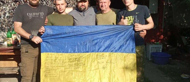 Священик Камінь-Каширського благочиння з душпастирською місією в черговий раз відвідав військовослужбовців ЗСУ на Сході України