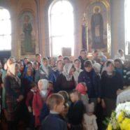 Храмовий празник в селі Гута-Боровенська