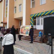 У селі Осівці молитвою розпочали навчання в новозбудованій школі