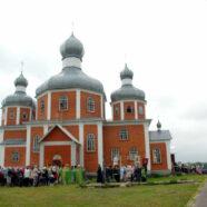 Керуючий Волинською єпархією УПЦ єпископ Нафанаїл відвідав громаду села Оленине у день Храмового свята