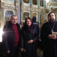 Учасники Всеукраїнської історичної конференції відвідали Камінь-Каширський храм Різдва Пресвятої Богородиці