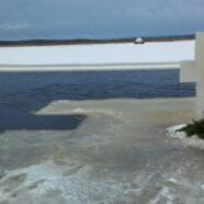Велике освячення води на річці Стохід в селі Оленине