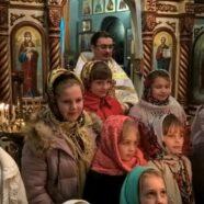 Різдвяна ніч у храмі святих апостолів Петра і Павла с. Підцир'я