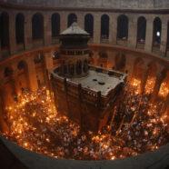 У Єрусалимі відбулося сходження Благодатного Вогню
