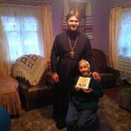 100-літній Ювілей парафіянки храму святої мучениці Параскеви с. Осівці