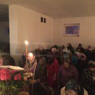 У тимчасовому храмі Святого пророка Іллі м. Каменя-Каширського було звершене читання  останньої частини Великого покаянного канону