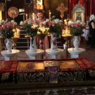Утреня з чином погребіння Плащаниці в тимчасовому храмі святого пророка Іллі м. Каменя-Каширського