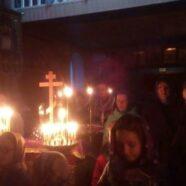 Парафіяни храму святих апостолів Петра і Павла села Підцир'я перші 4 вечори Великого посту провели в спільній молитві