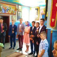Випускники ЗОШ с. Підцир'я розпочали Випускний вечір зі спільної молитви у своєму храмі