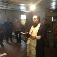 Священик Камінь-Каширського благочиння з душпастирською місією відвідав військовослужбовців ЗСУ на Сході України